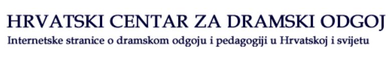 Hrvatski centar za dramski odgoj