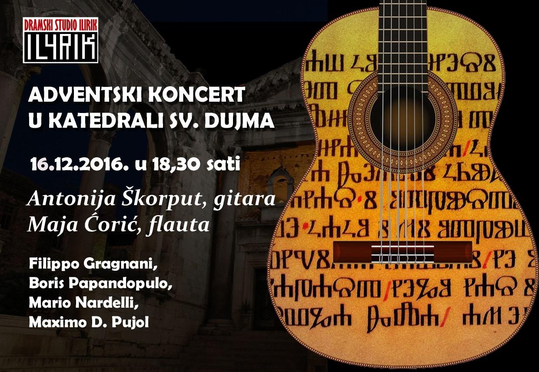 Adventski koncert u Splitu i Omišu